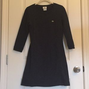 Lacoste dress with pockets!